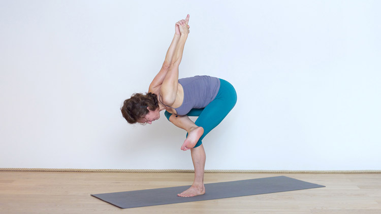 Salutations au soleil et équilibres | Cours de yoga en ligne avec Delphine Denis | Yoga Vinyasa