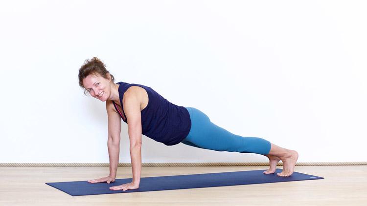Toma la clase de yoga online Yoga Vinyasa Principiantes 1/4 con Delphine Denis   Yoga Vinyasa