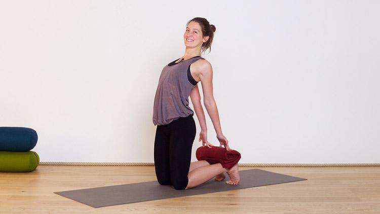Suivre le cours de yoga en ligne Ouvrir la poitrine sur Casa Yoga Tv